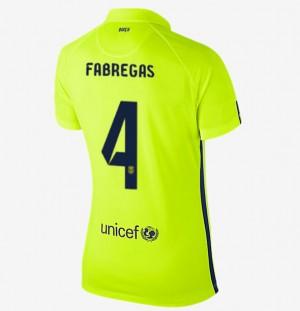 Camiseta de Barcelona 2014/2015 Primera Equipacion Mujer