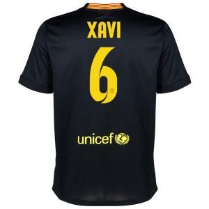 Camiseta Barcelona Xavi Tercera Equipacion 2013/2014