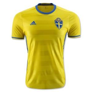 Camiseta Suecia 2016/2017