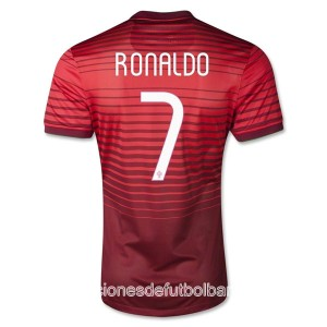 Camiseta Portugal de la Seleccion Ronaldo Primera 2013/2014