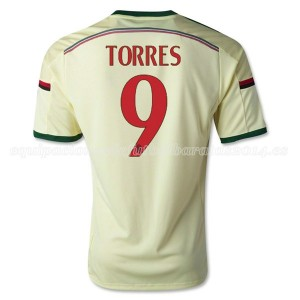 Camiseta nueva del AC Milan 2014/2015 Equipacion Torres Tercera