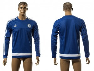 Training Top nueva Chelsea Azul LS Long Sleeve