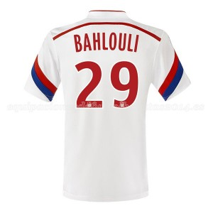 Camiseta nueva Lyon Bahlouli Primera 2014/2015