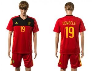 Camiseta nueva Belgium 19# 2015-2016