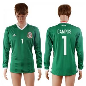 Camiseta de Mexico 2016-2017 1#