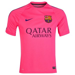 Camiseta del pink Barcelona Entrenamiento 2014
