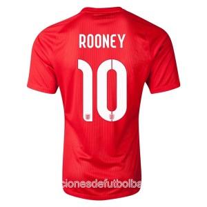 Camiseta nueva del Inglaterra de la Seleccion WC2014 Rooney Segunda