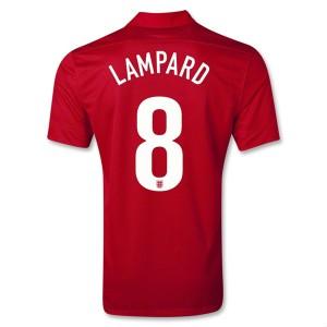 Camiseta de Inglaterra de la Seleccion 2013/2014 Segunda Lampard