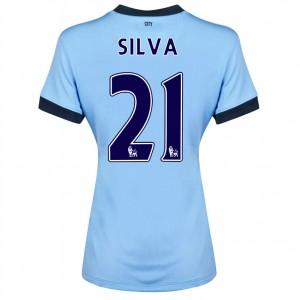 Camiseta de Manchester City 2014/2015 Tercera Fernandinho