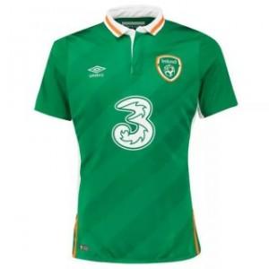 Camiseta nueva del Irlanda 2016 UEFA Euro