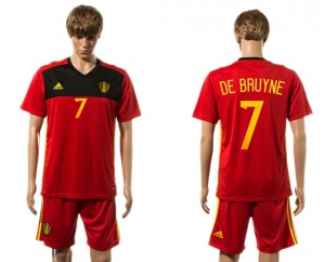 Camiseta del 7# Belgium 2015-2016