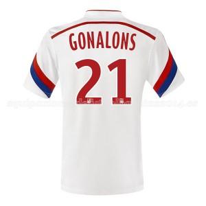 Camiseta nueva del Lyon 2014/2015 Gonalons Primera
