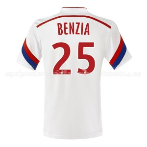 Camiseta de Lyon 2014/2015 Primera Benzia