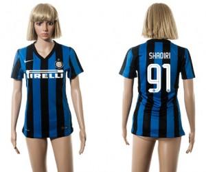 Camiseta de Inter Milan 2015/2016 91 Mujer