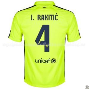 Camiseta nueva del Barcelona 2014/2015 I_Rakitic Tercera