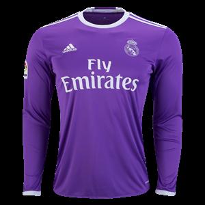Camiseta nueva del Real Madrid 2016/2017 Equipacion Segunda