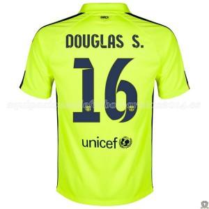 Camiseta Barcelona Douglas S. Tercera 2014/2015