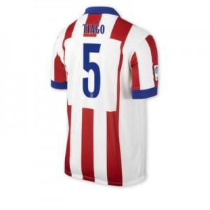 Camiseta del TIAGO Atletico Madrid Primera Equipacion 2014/2015