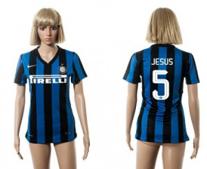 Camiseta nueva Inter Milan Mujer 5 2015/2016