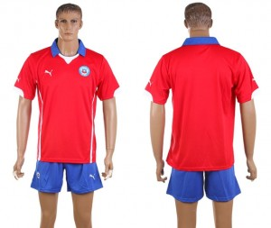 Camiseta nueva del Chile de la Seleccion Primera