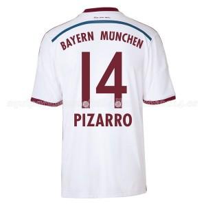 Camiseta Bayern Munich Pizarro Segunda Equipacion 2014/2015
