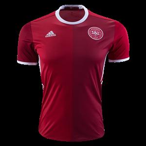 Camiseta nueva del Dinamarca 2016 Equipacion Primera