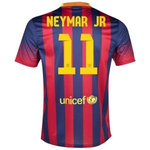 Camiseta de Barcelona 2013/2014 Primera Neymar Jr