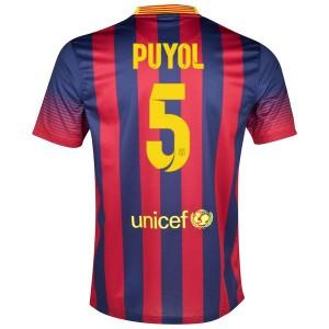 Camiseta Barcelona Puyol Primera 2013/2014