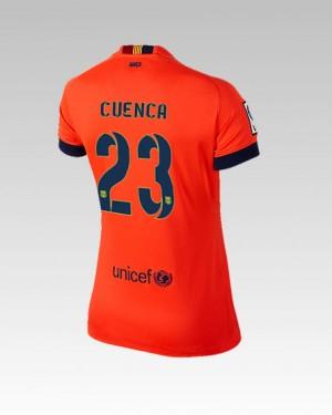 Camiseta nueva del Barcelona 2014/2015 Bartra Primera