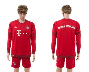 Camiseta del Bayern Munich Primera Manga Larga 15/16