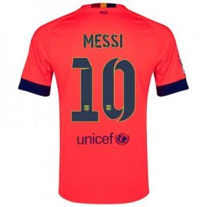 Camiseta de Barcelona 2014/2015 Segunda MESSI Equipacion