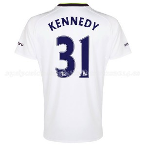 Camiseta del Kennedy Everton 3a 2014-2015