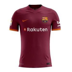 Camiseta de FC Barcelona 2017-18 Segunda