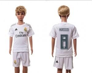Camiseta nueva del Real Madrid 2015/2016 8 Niños Home