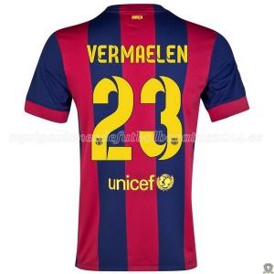 Camiseta Barcelona Vermaelen Primera 2014/2015