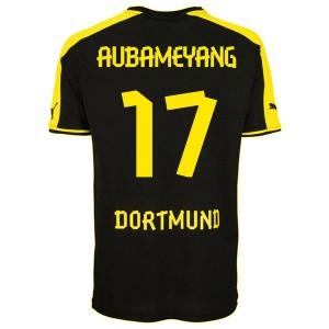 Camiseta de Borussia Dortmund 2013/2014 Segunda Aubameyang