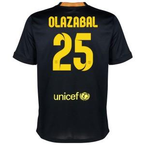 Camiseta nueva del Barcelona 2013/2014 Equipacion Olazabal Tercera