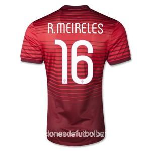 Camiseta nueva del Portugal de la Seleccion 2013/2014 R.Meireles Primera