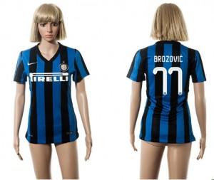 Camiseta de Inter Milan 2015/2016 77 Mujer