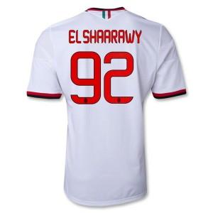 Camiseta de AC Milan 2013/2014 Segunda El Shaarawy Equipacion