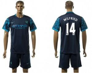 Camiseta del 14# Manchester City Away