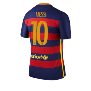 Camiseta del Numero 10 MESSI Barcelona Primera Equipacion 2015/2016