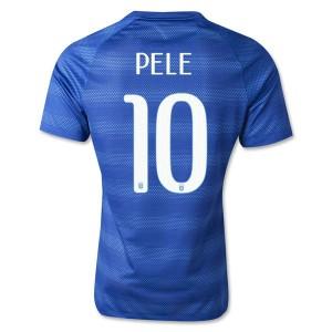 Camiseta Brasil de la Seleccion Pele Segunda WC2014