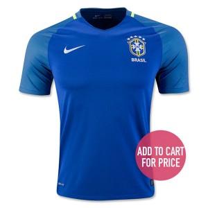 Camiseta Brasil Segunda Equipacion 2016