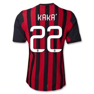 Camiseta del Kaka AC Milan Primera Equipacion 2013/2014