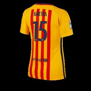 Camiseta nueva Barcelona Mujer Numero 15 Equipacion Segunda 2015/2016