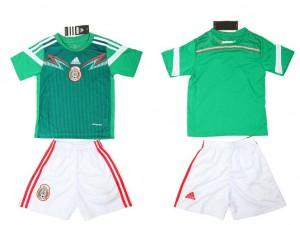 Camiseta de Mexico 2015/2016 Niños