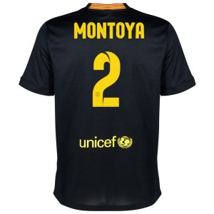 Camiseta nueva Barcelona Montoya Equipacion Tercera 2013/2014