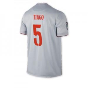 Camiseta nueva Atletico Madrid TIAGO Equipacion Segunda 2014/2015