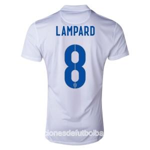Camiseta Inglaterra de la Seleccion Lampard Primera WC2014